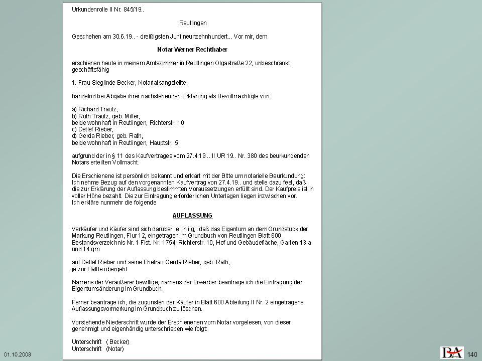 01.10.2008 Investition und Finanzierung