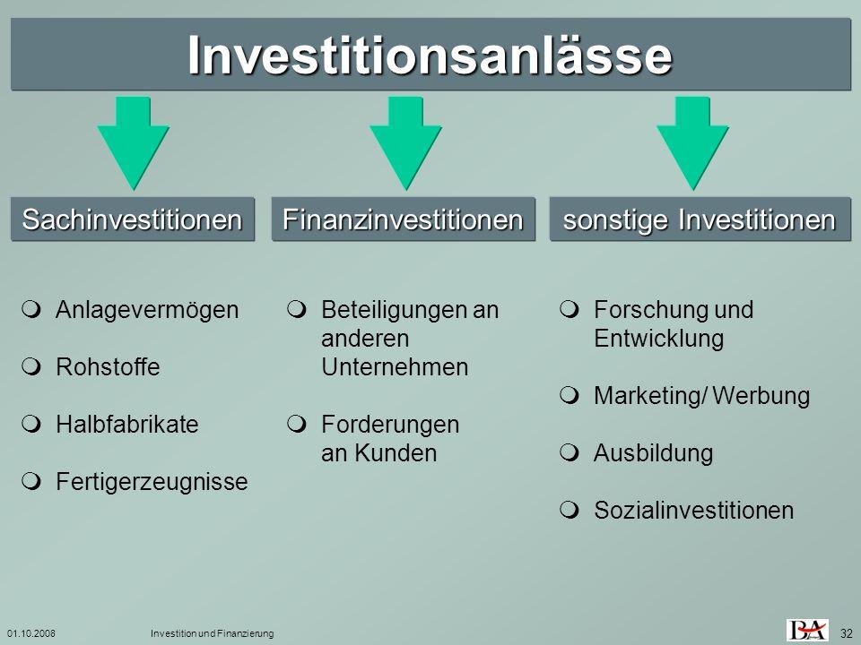 sonstige Investitionen