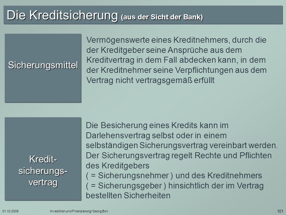 Kredit-sicherungs-vertrag