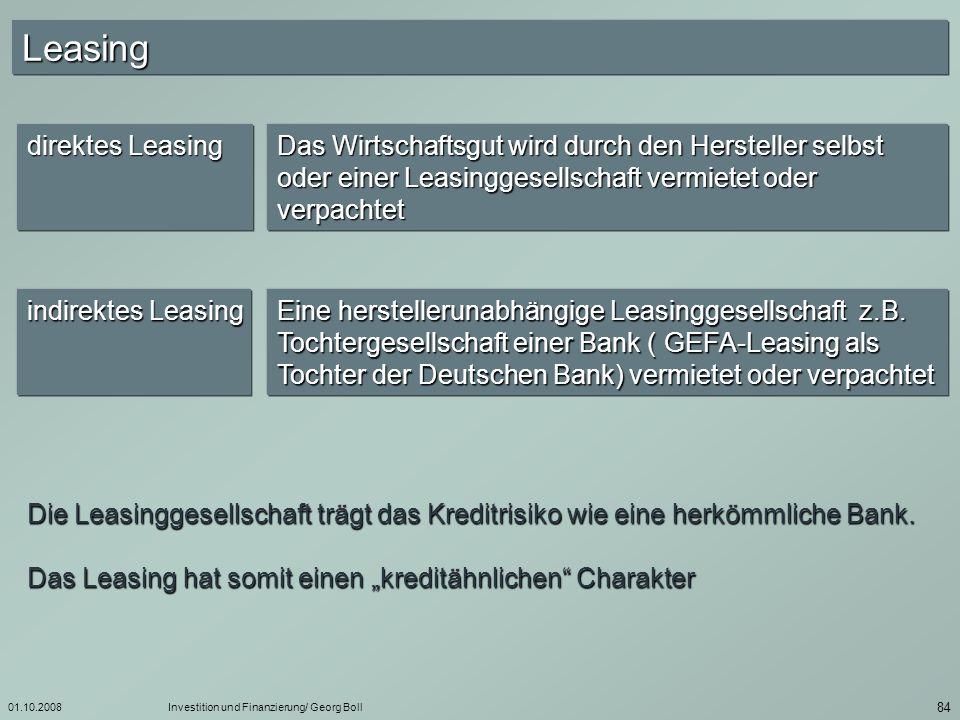 Leasing direktes Leasing