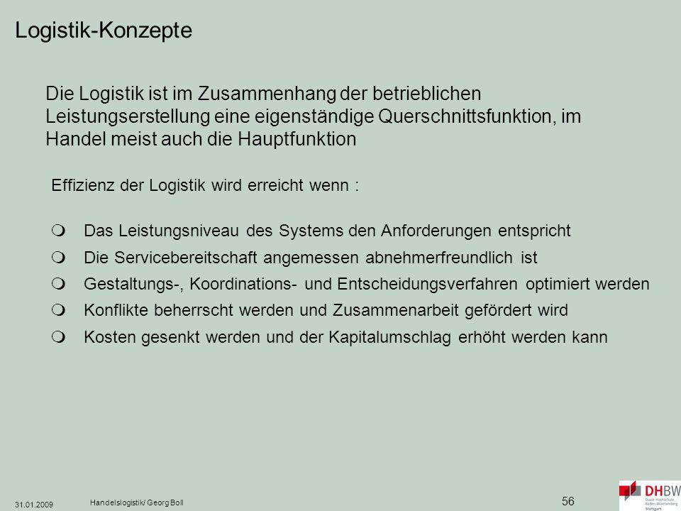 Logistik-Konzepte