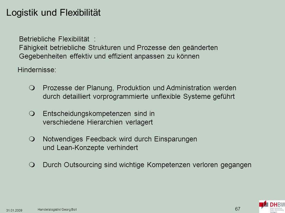 Logistik und Flexibilität