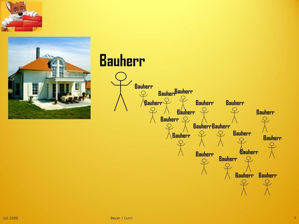 Juli 2009 Bauer / Curri