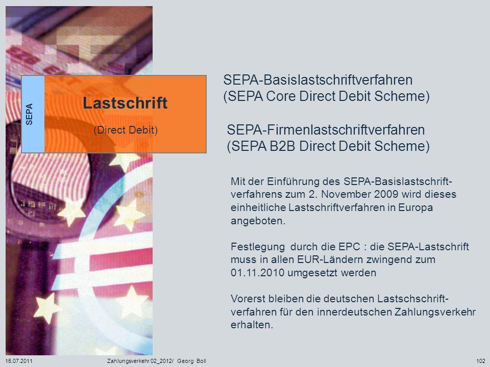 SEPA-Basislastschriftverfahren (SEPA Core Direct Debit Scheme)