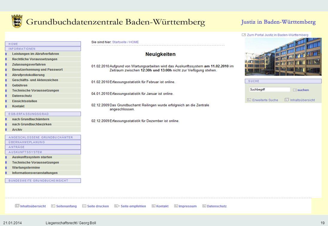 27.03.2017 Liegenschaftsrecht / Georg Boll