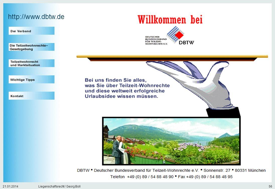 http://www.dbtw.de 27.03.2017 Liegenschaftsrecht / Georg Boll