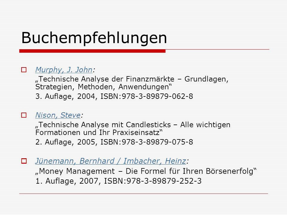 Buchempfehlungen Jünemann, Bernhard / Imbacher, Heinz: