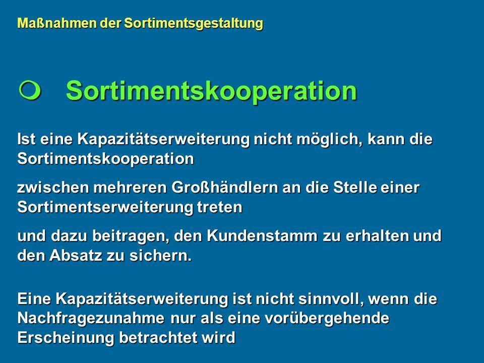  Sortimentskooperation