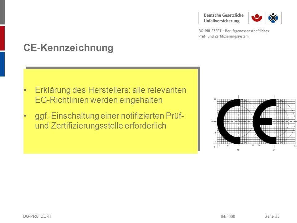 CE-Kennzeichnung Erklärung des Herstellers: alle relevanten EG-Richtlinien werden eingehalten.
