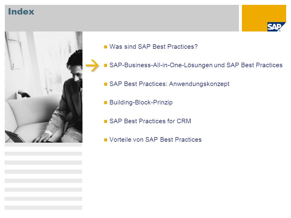  Index Was sind SAP Best Practices