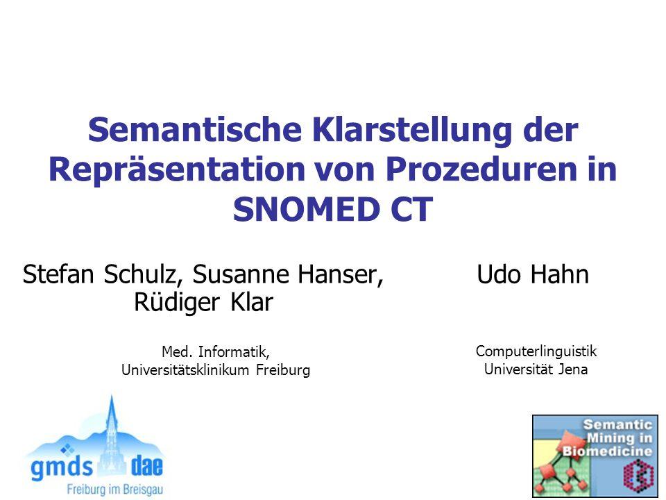 Stefan Schulz, Susanne Hanser, Rüdiger Klar