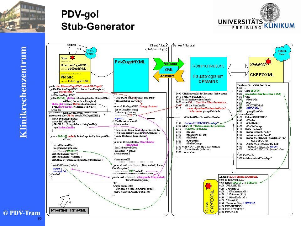 PDV-go! Stub-Generator