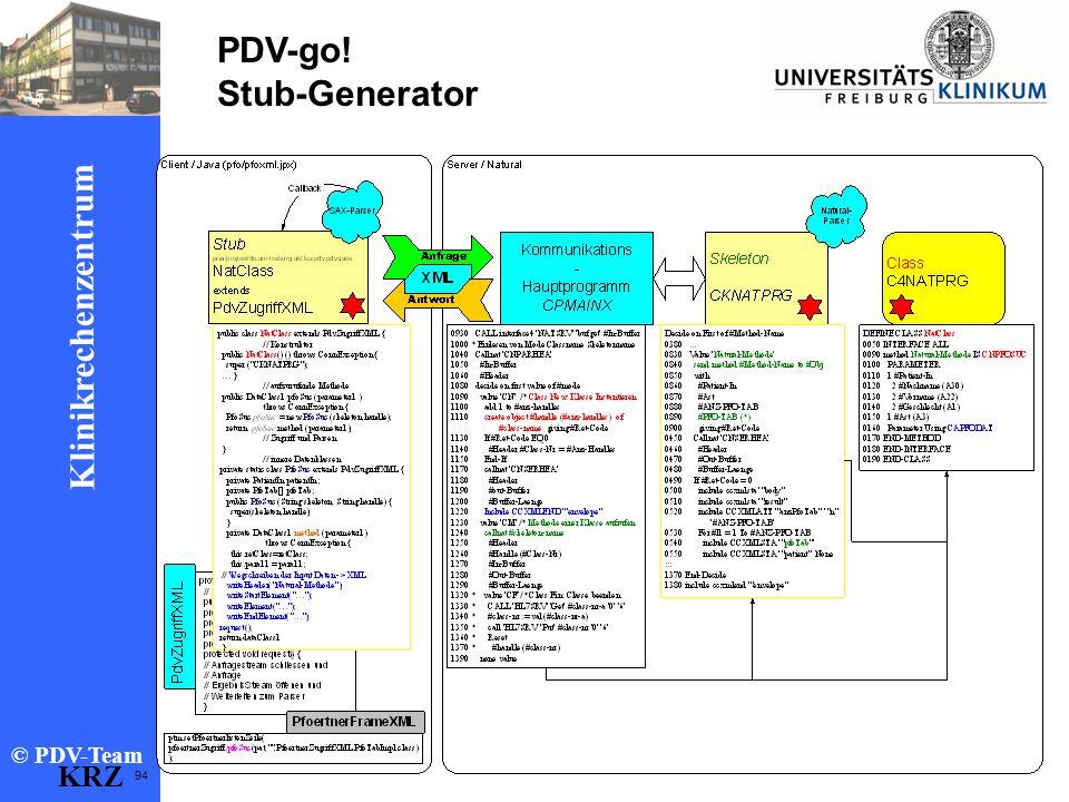 PDV-go! Stub-Generator KRZ