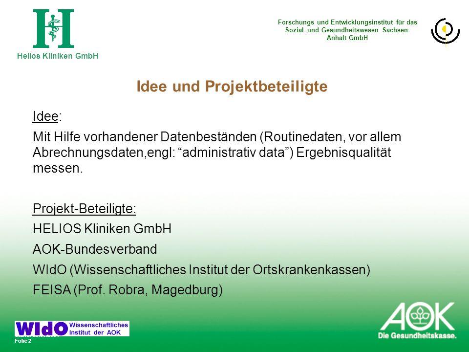 Idee und Projektbeteiligte
