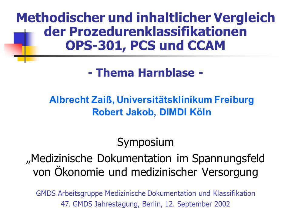 Albrecht Zaiß, Universitätsklinikum Freiburg Robert Jakob, DIMDI Köln