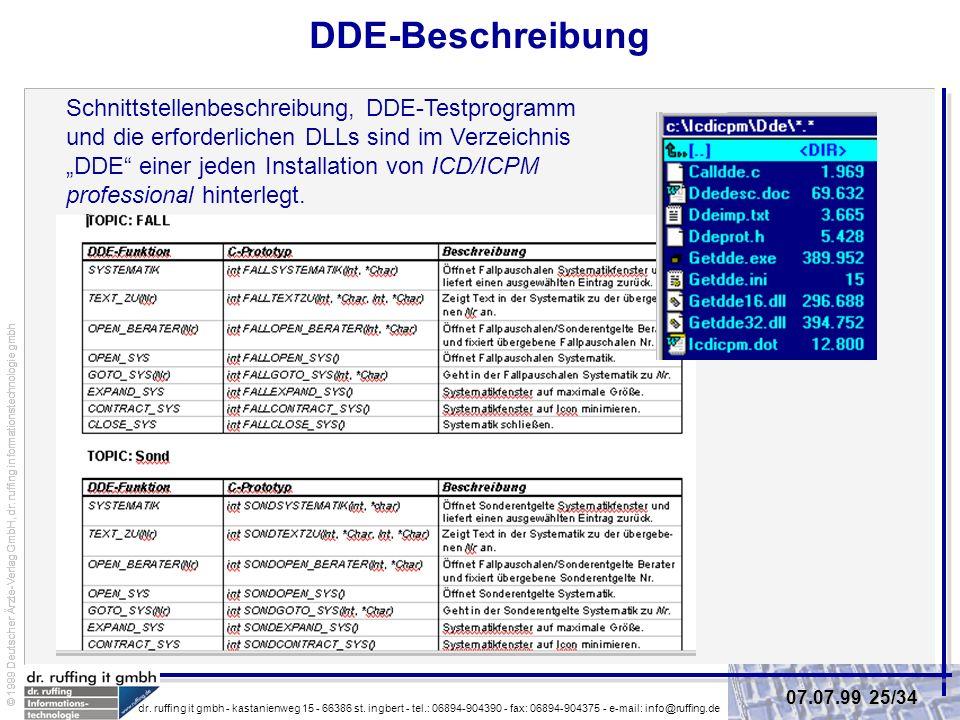 DDE-Beschreibung