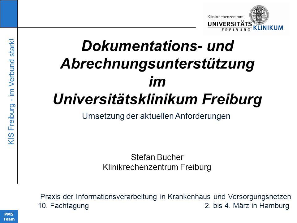 Abrechnungsunterstützung Universitätsklinikum Freiburg