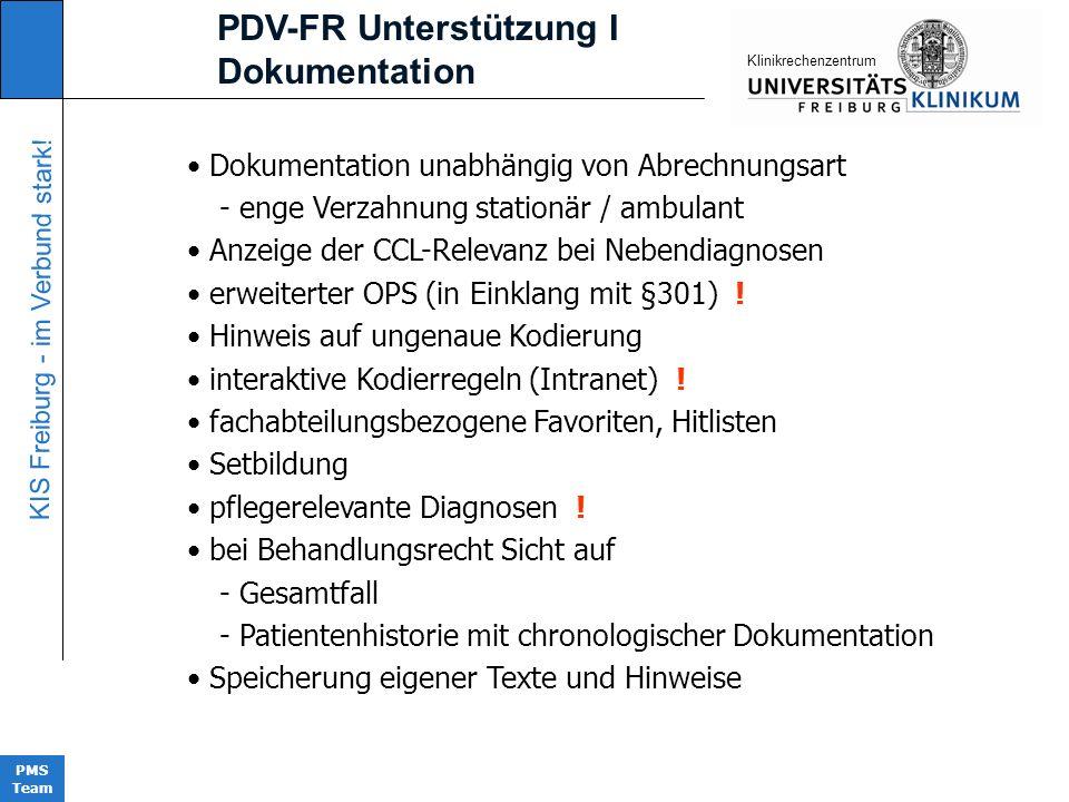 PDV-FR Unterstützung I Dokumentation