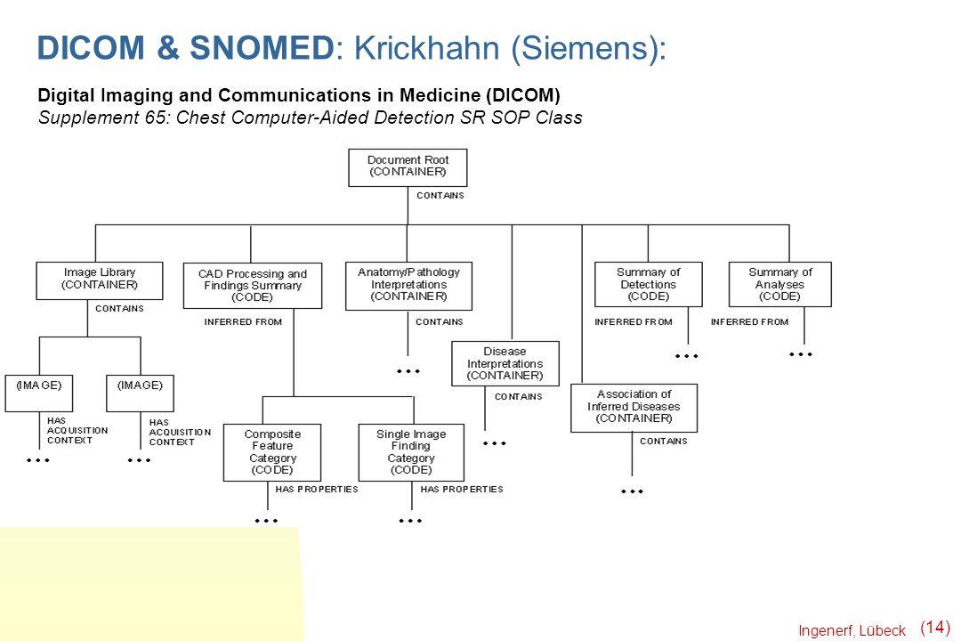 DICOM & SNOMED: Krickhahn (Siemens):