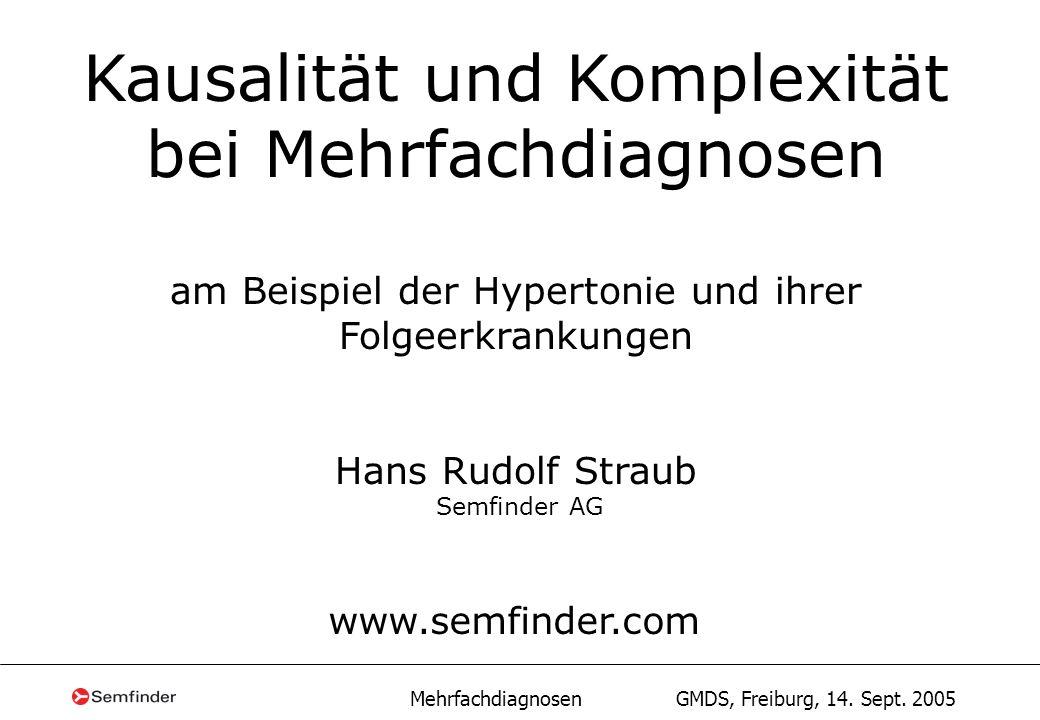 Kausalität und Komplexität bei Mehrfachdiagnosen