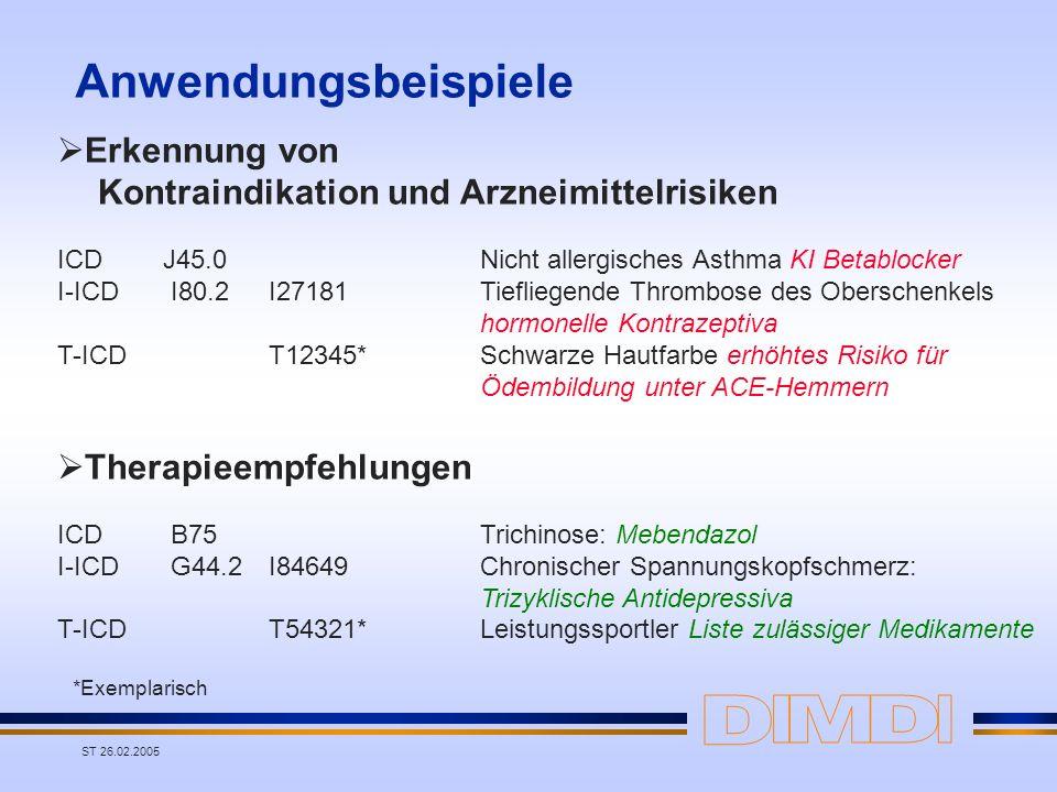 Erkennung von Kontraindikation und Arzneimittelrisiken