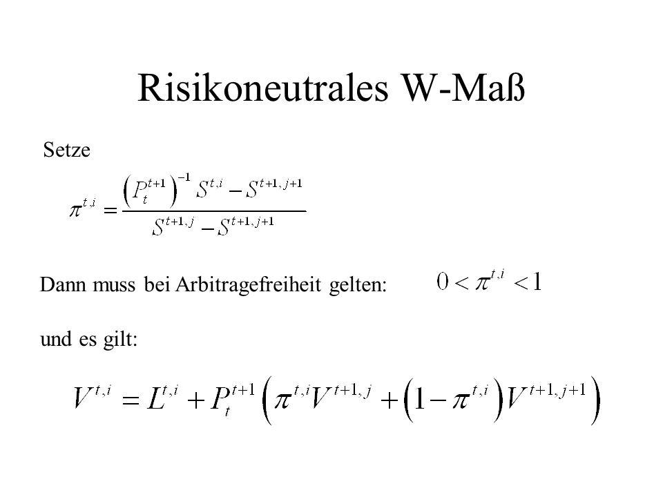 Risikoneutrales W-Maß
