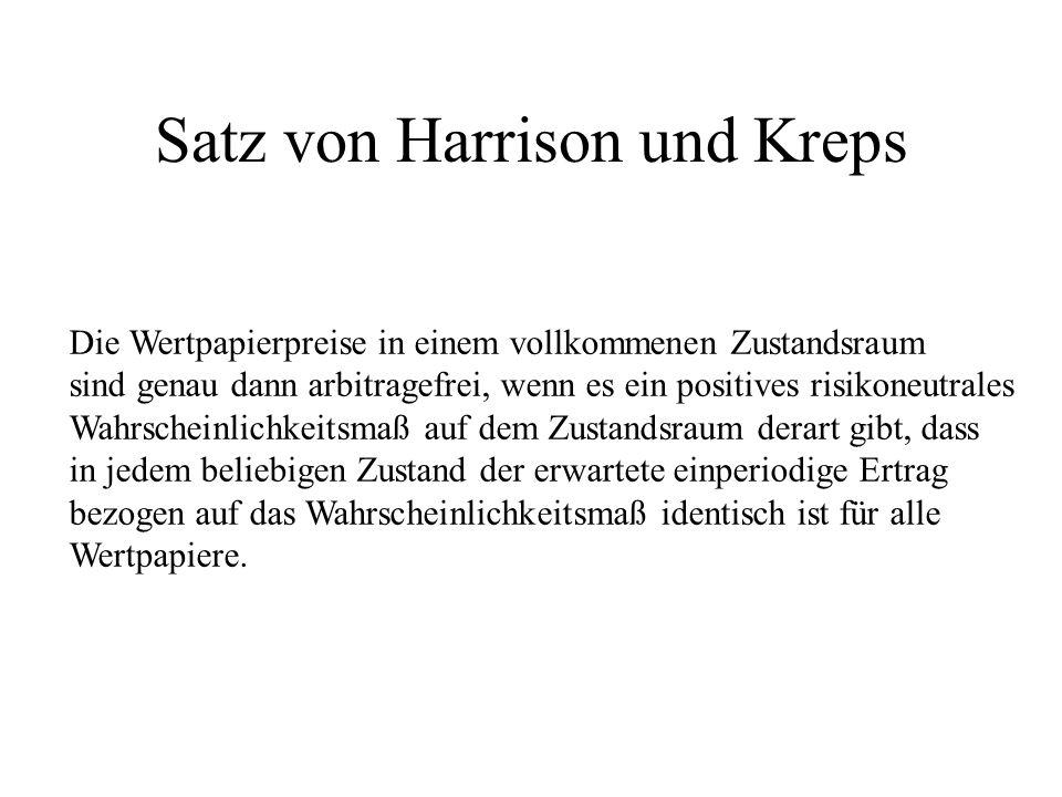 Satz von Harrison und Kreps