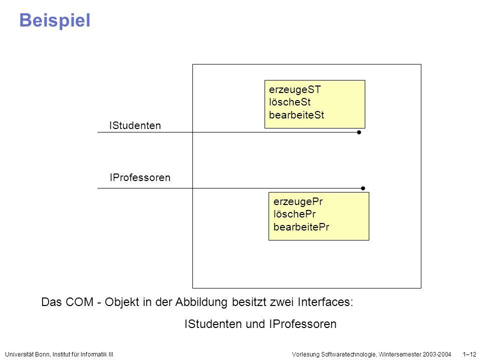 IStudenten und IProfessoren