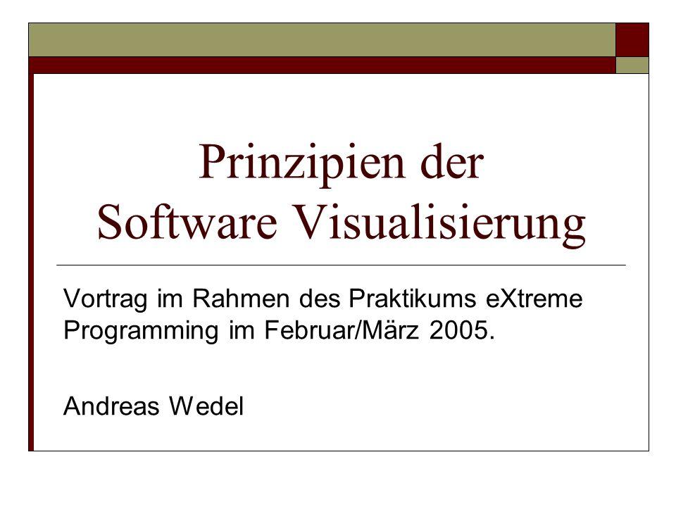 Prinzipien der Software Visualisierung