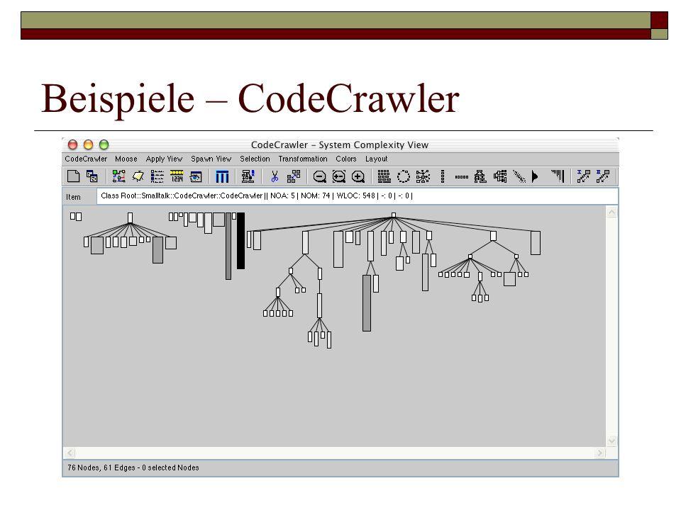 Beispiele – CodeCrawler