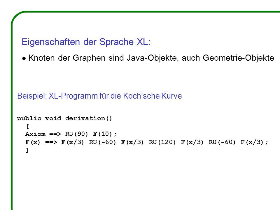 Eigenschaften der Sprache XL: