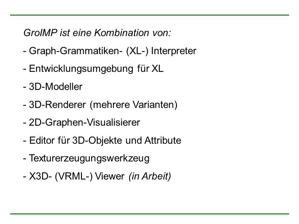 GroIMP ist eine Kombination von:
