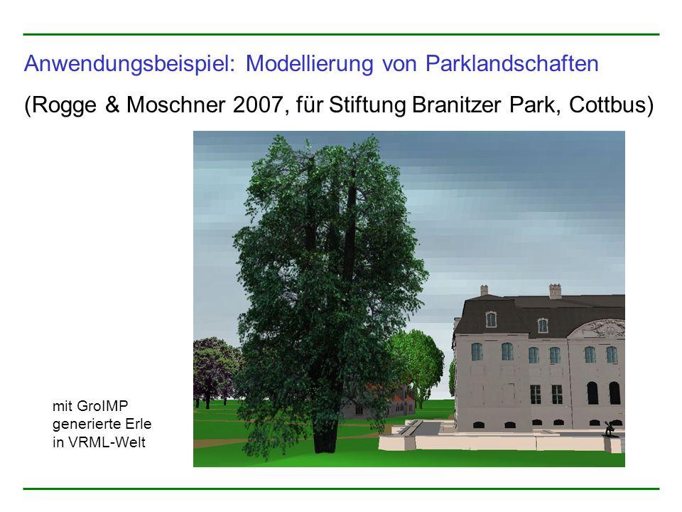 Anwendungsbeispiel: Modellierung von Parklandschaften