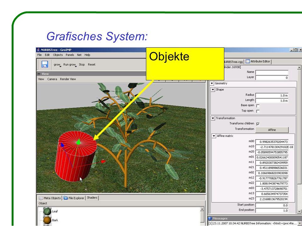Grafisches System: Objekte
