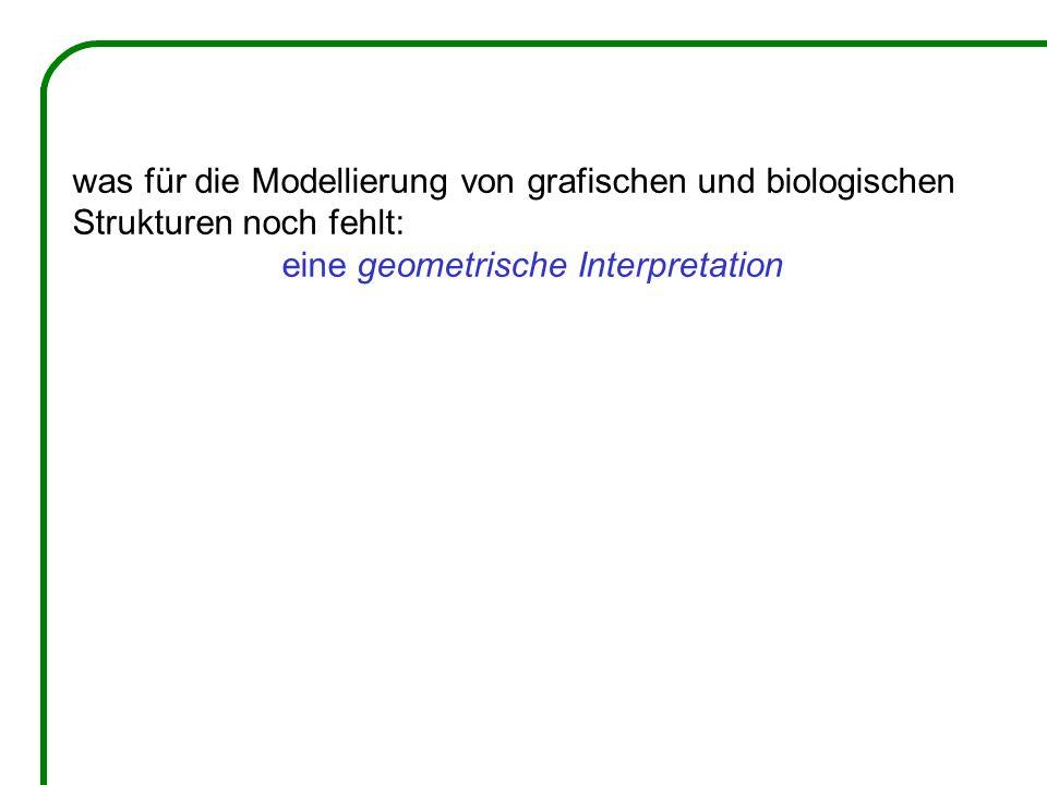 was für die Modellierung von grafischen und biologischen Strukturen noch fehlt: