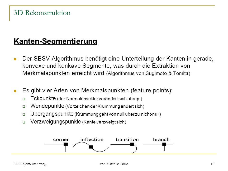 Kanten-Segmentierung