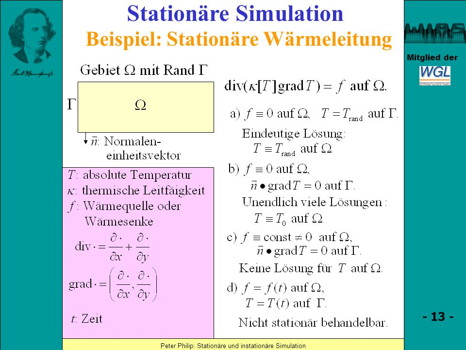 Stationäre Simulation