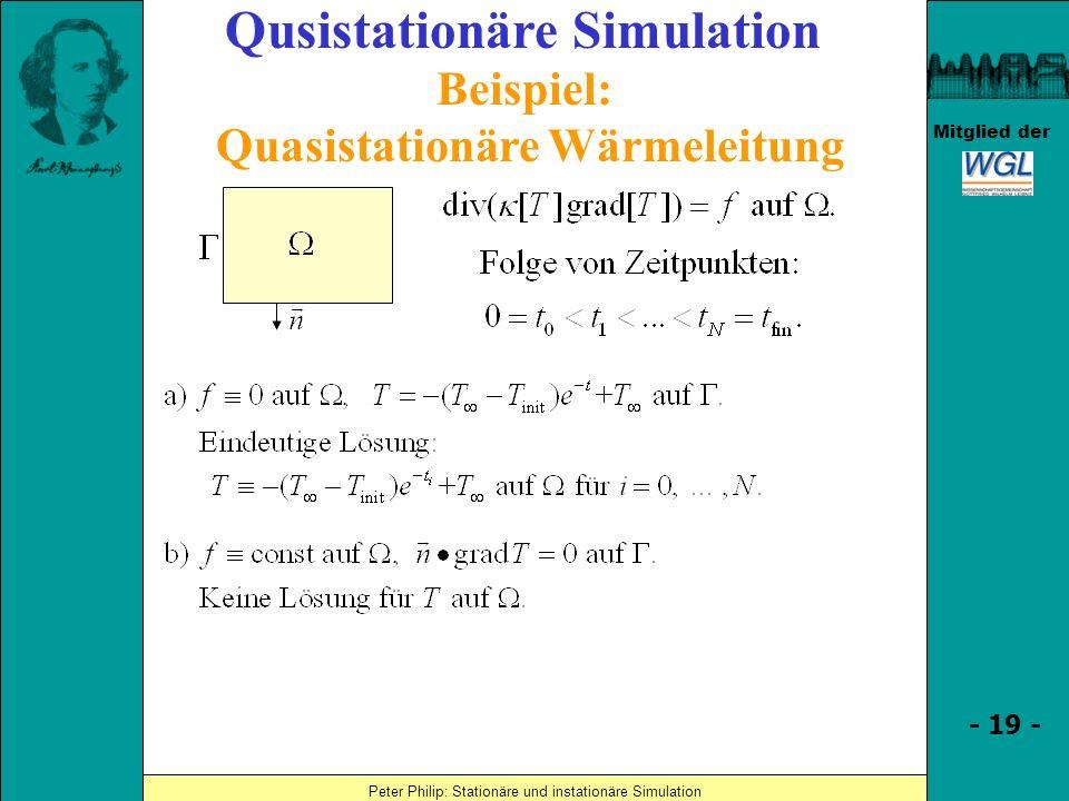 Quasistationäre Wärmeleitung
