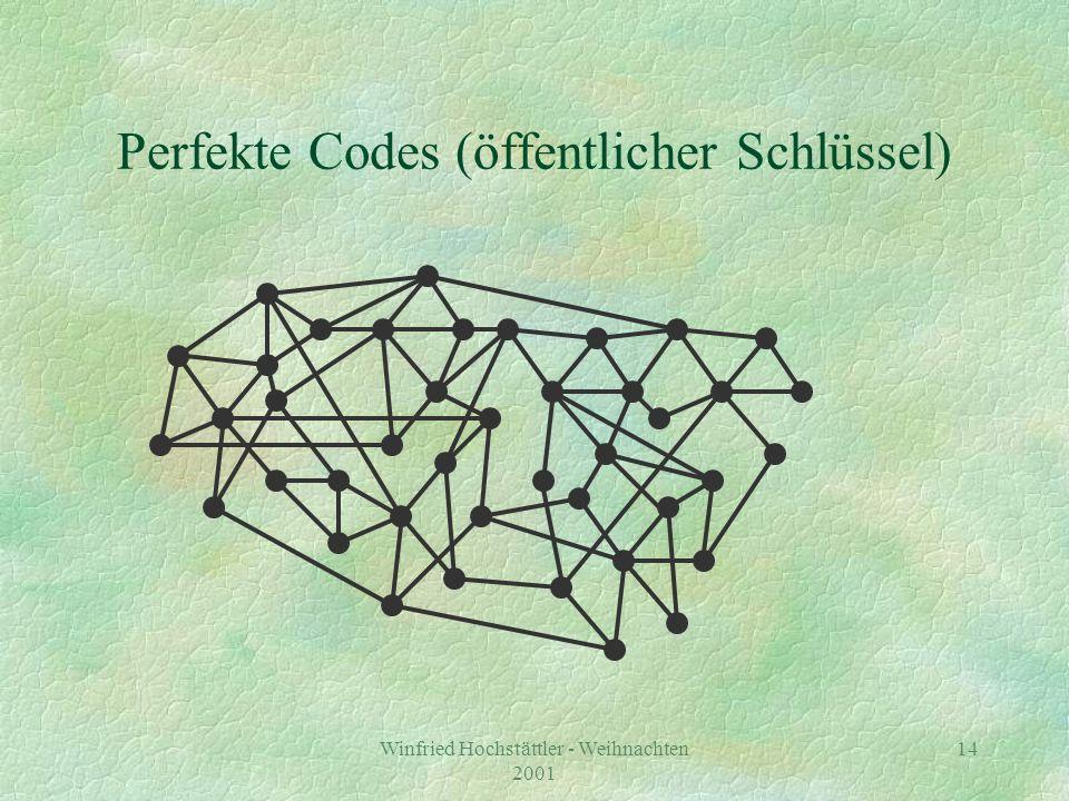 Perfekte Codes (öffentlicher Schlüssel)