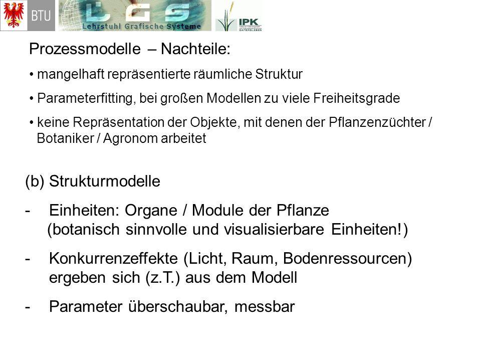 Prozessmodelle – Nachteile: