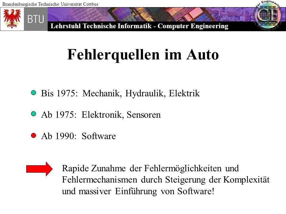 Fehlerquellen im Auto Bis 1975: Mechanik, Hydraulik, Elektrik