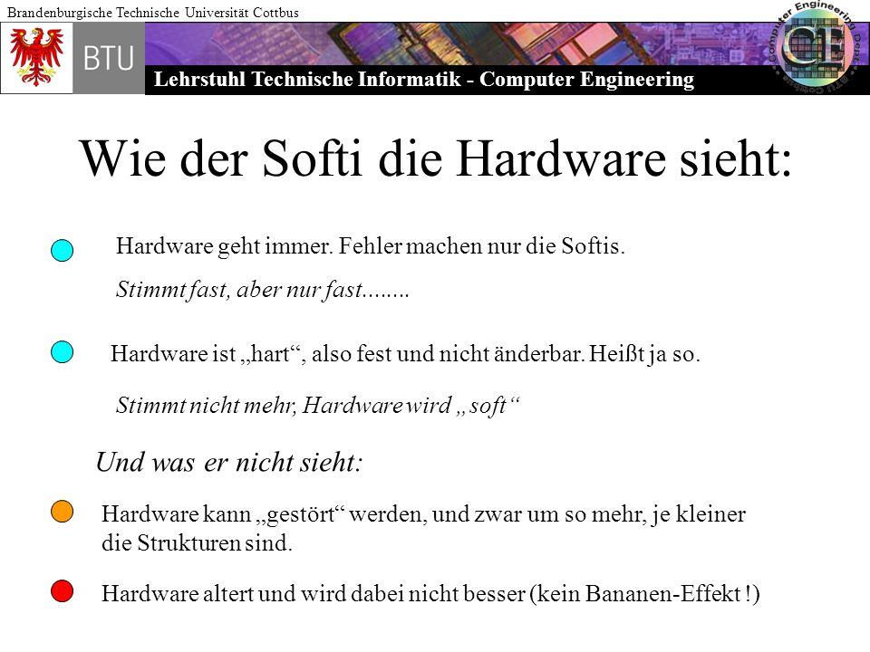Wie der Softi die Hardware sieht: