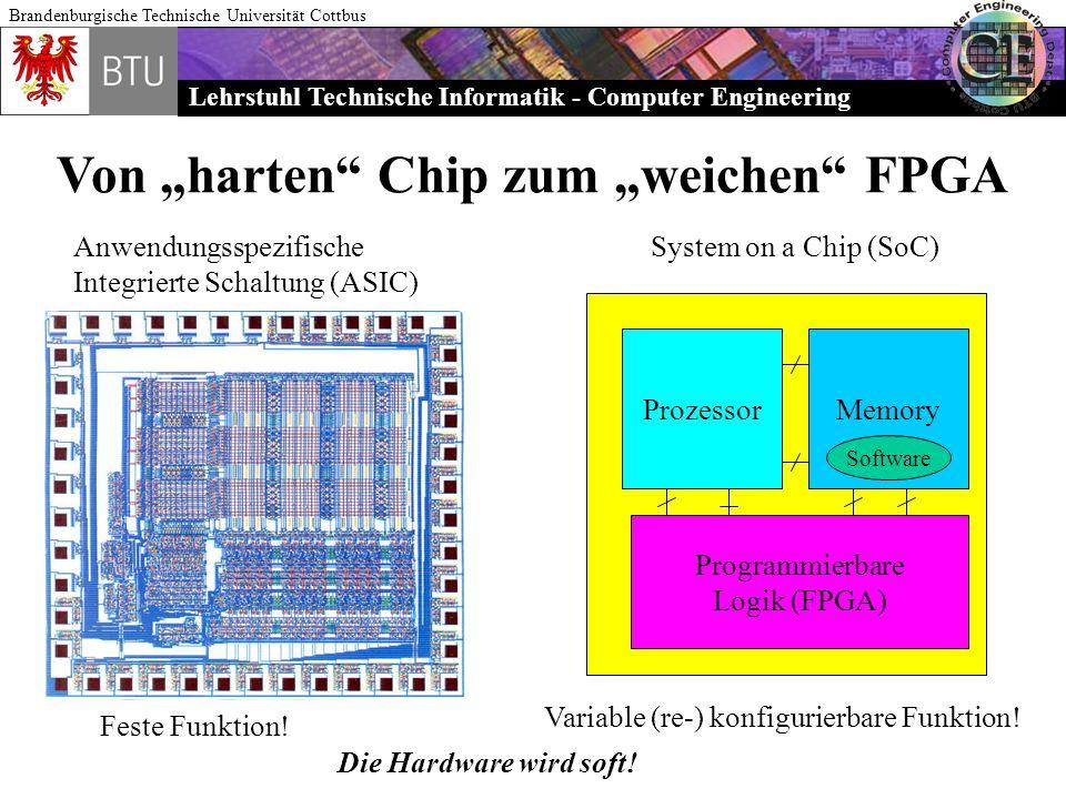 """Von """"harten Chip zum """"weichen FPGA"""