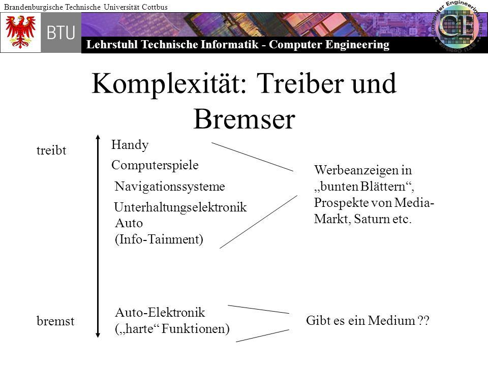 Komplexität: Treiber und Bremser