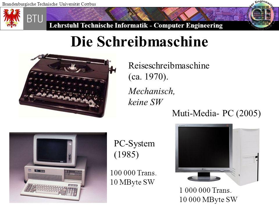 Die Schreibmaschine Reiseschreibmaschine (ca. 1970). Mechanisch,