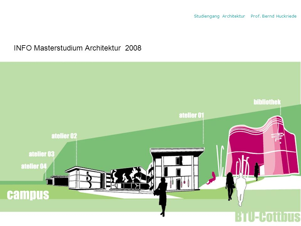 INFO Masterstudium Architektur 2008