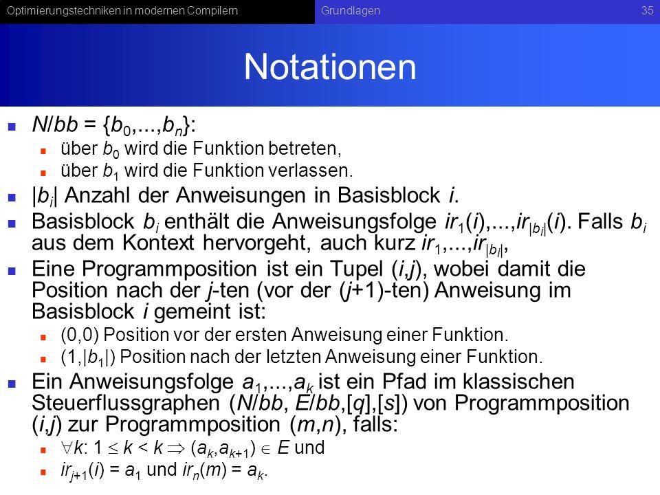 Notationen N/bb = {b0,...,bn}: