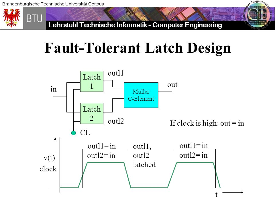 Fault-Tolerant Latch Design