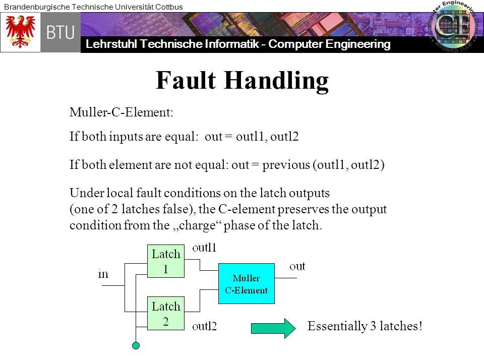 Fault Handling Muller-C-Element: