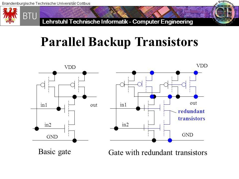 Parallel Backup Transistors